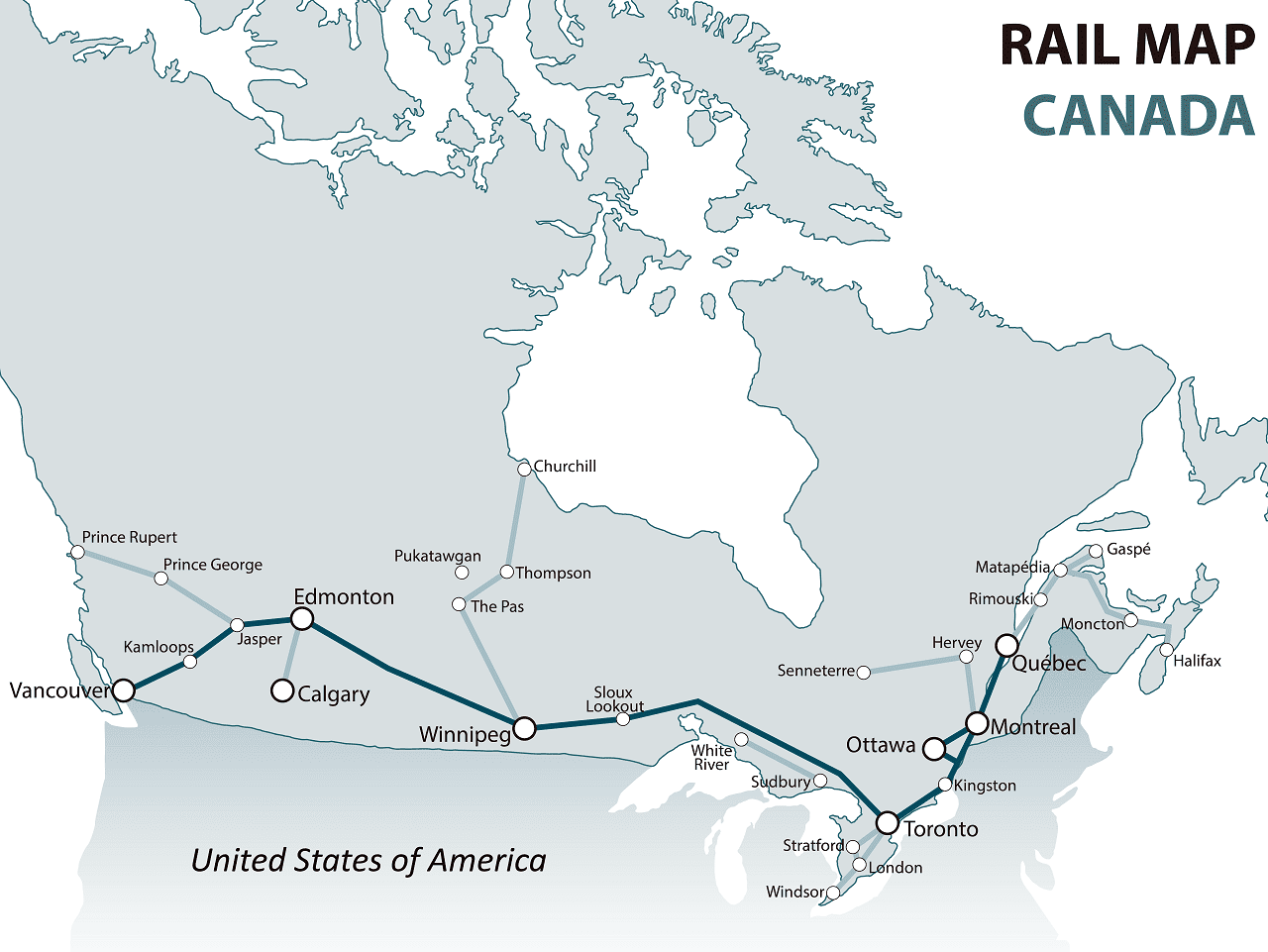 canada rail map